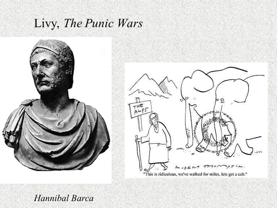 Livy, The Punic Wars Hannibal Barca