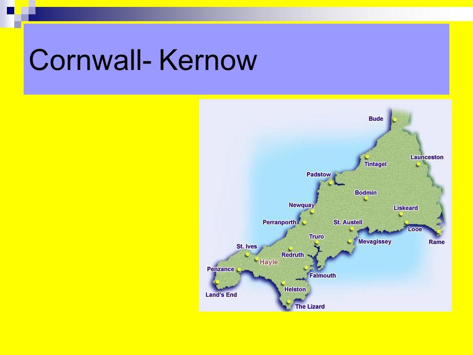 Cornwall- Kernow