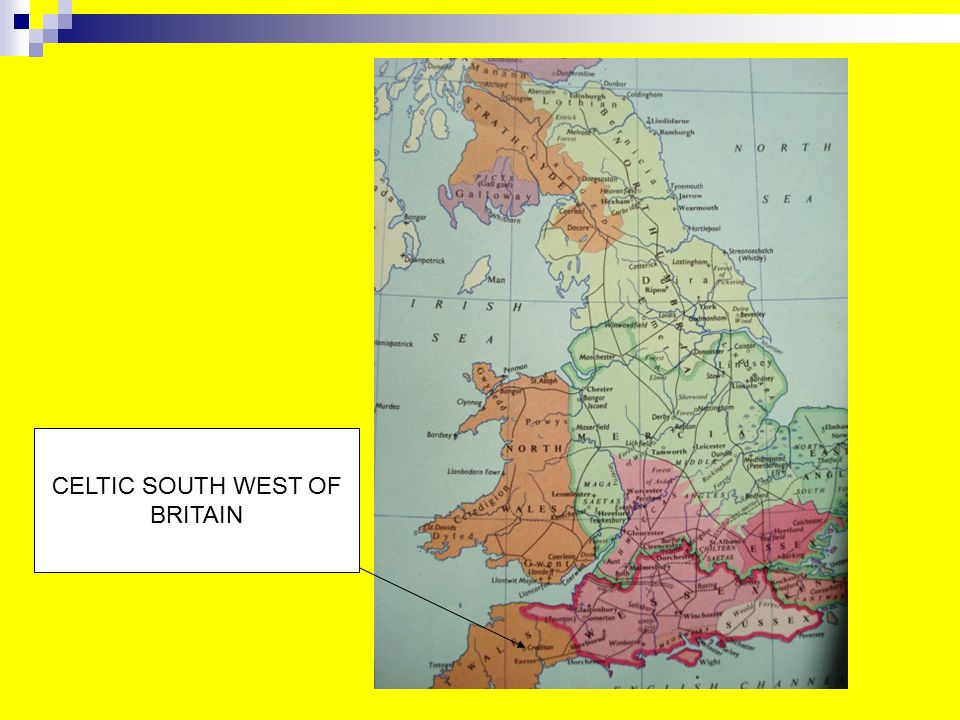 CELTIC SOUTH WEST OF BRITAIN