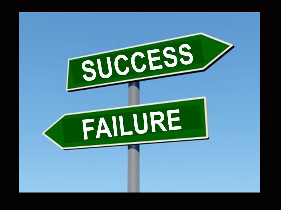 Succes s - Failure FAILURE SUCCESS