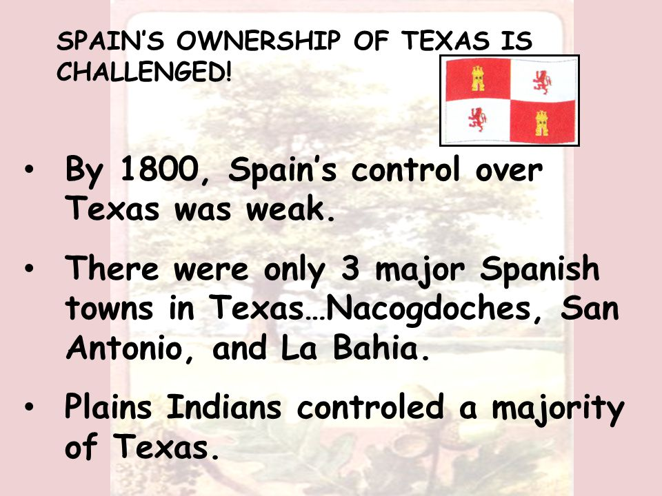 Long's army marched into Texas, took Nacogdoches, and declared Texas free from Spain.