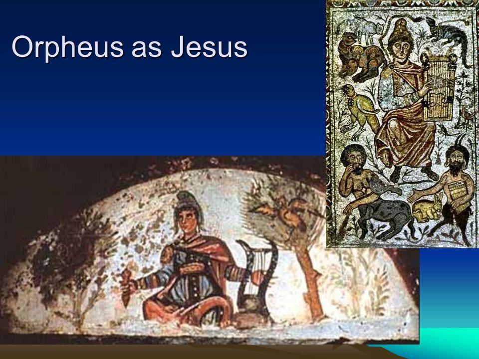 Orpheus as Jesus