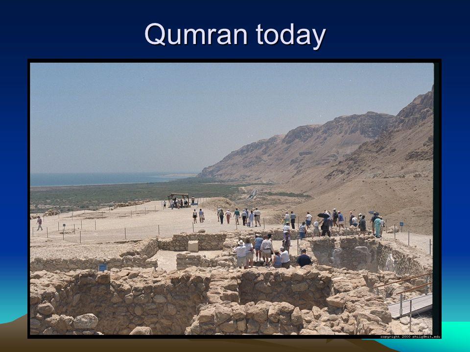 Qumran today