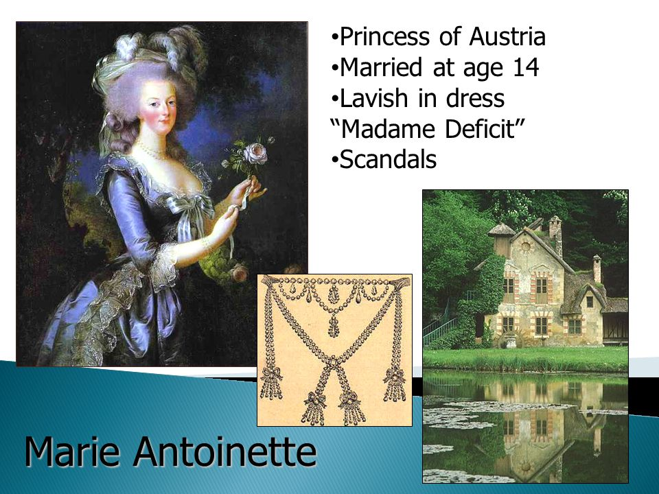 """Princess of Austria Married at age 14 Lavish in dress """"Madame Deficit"""" Scandals Marie Antoinette"""