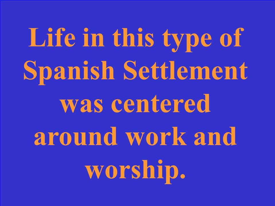 What is San Antonio de Valero?