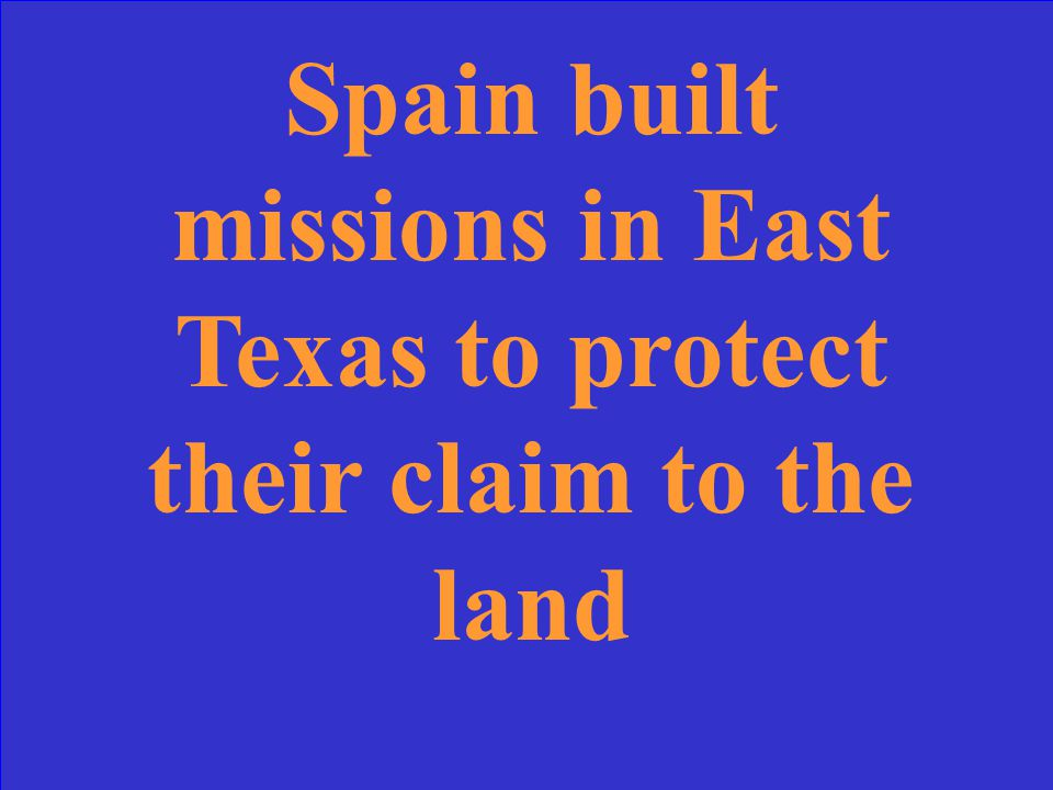 This was a major effect of La Salle's expedition on the Spanish Settlement of Texas.
