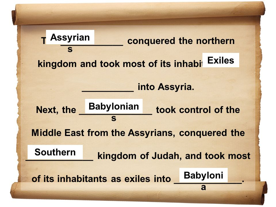 The ___________ then took control from the Babylonians and King ________ let exiled peoples, including ______, return to their native lands if they wished.