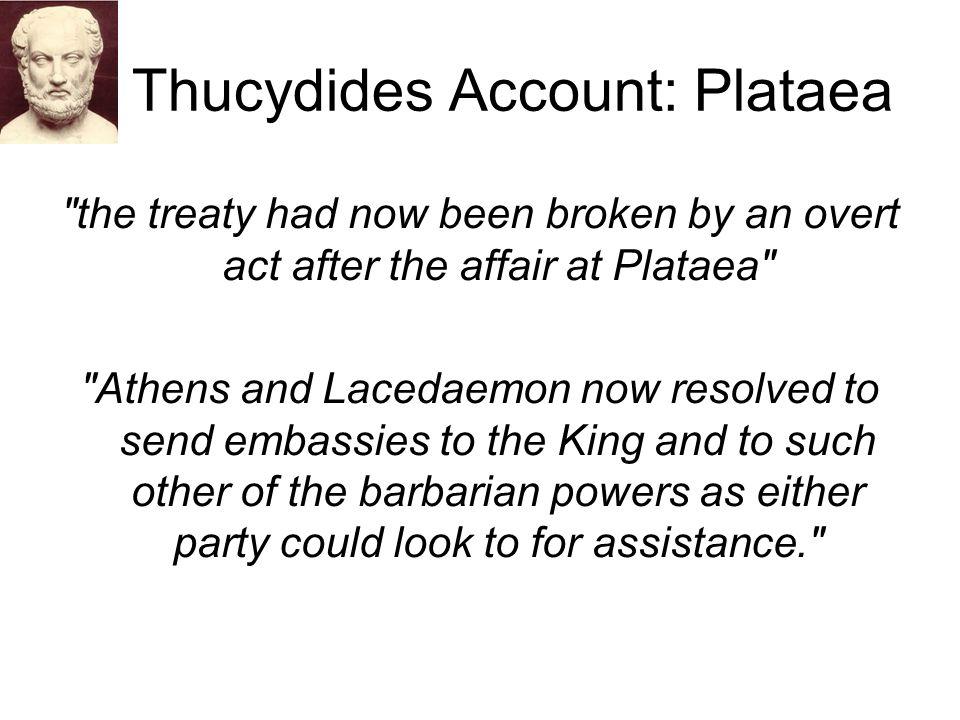 Thucydides Account: Plataea