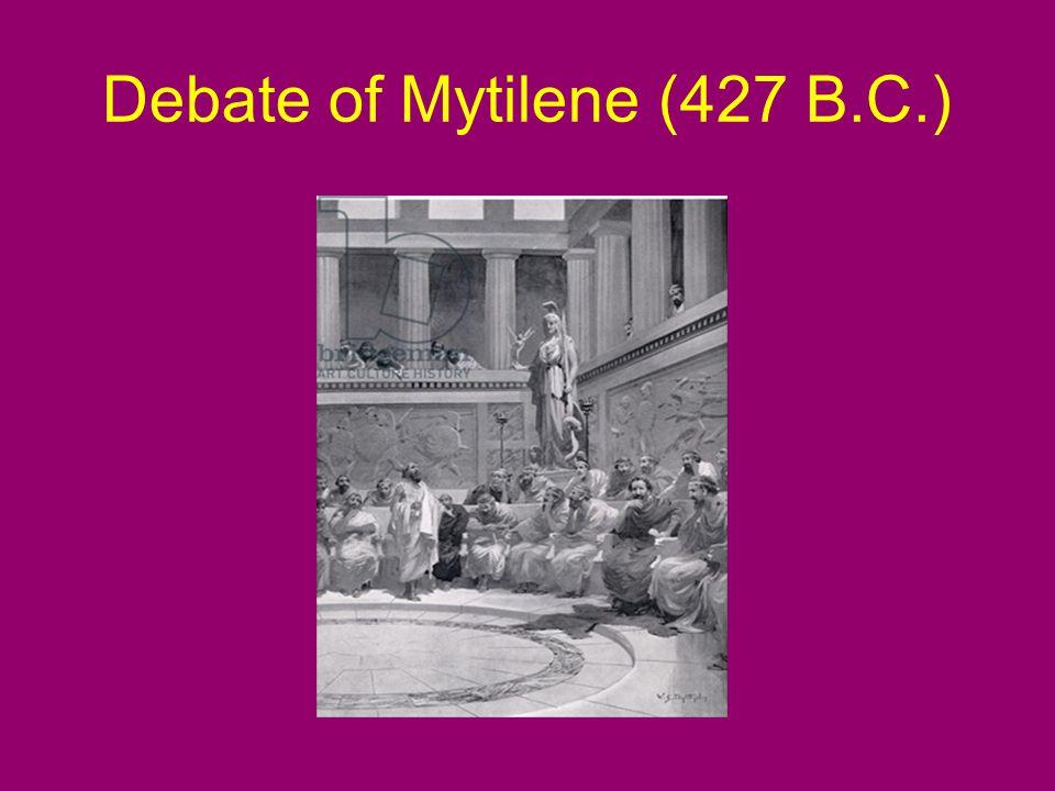 Debate of Mytilene (427 B.C.)