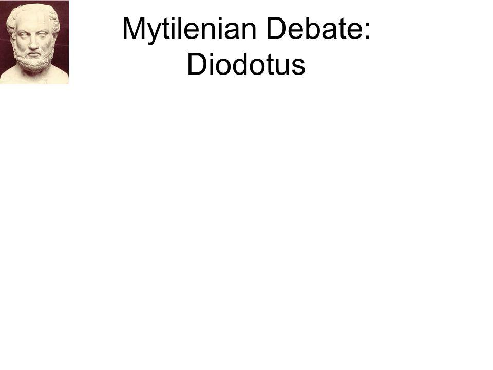Mytilenian Debate: Diodotus