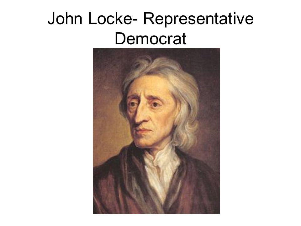John Locke- Representative Democrat