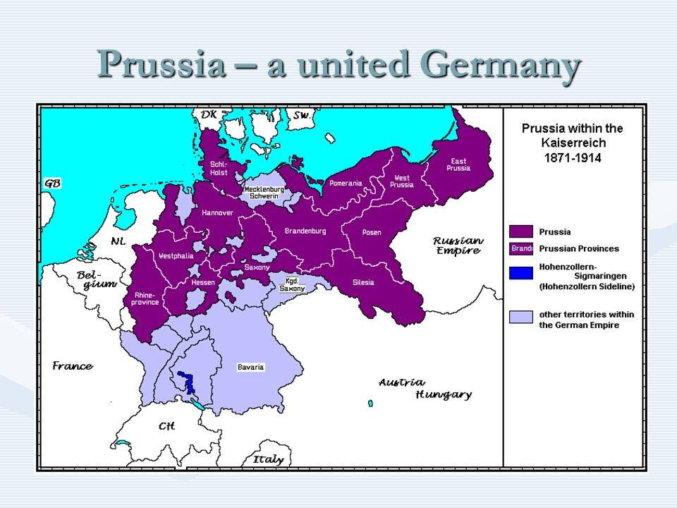 Prussia – a united Germany