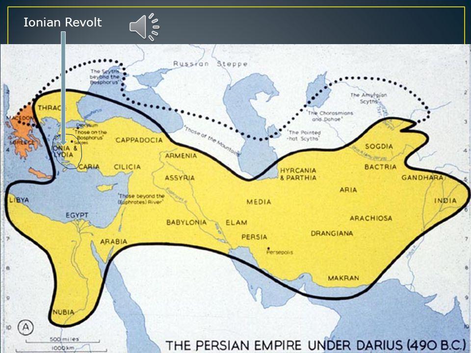 King Darius 490 BCE