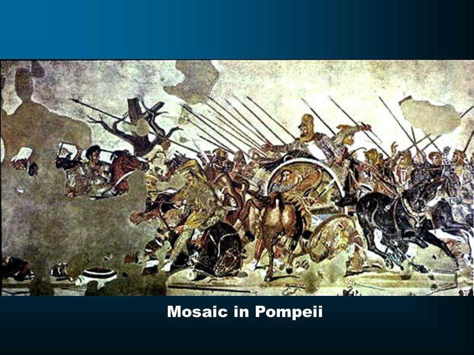 Mosaic in Pompeii