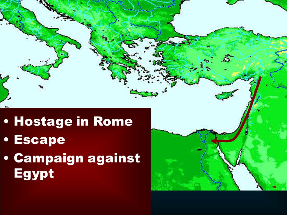 Hostage in Rome Escape Campaign against Egypt