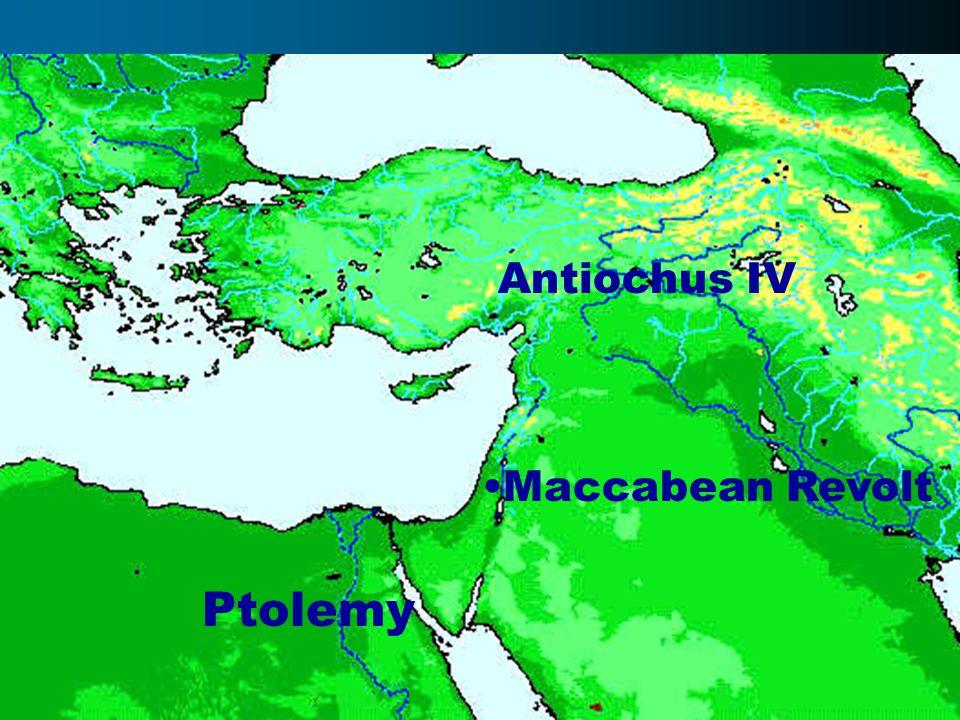 Ptolemy Antiochus IV Maccabean Revolt