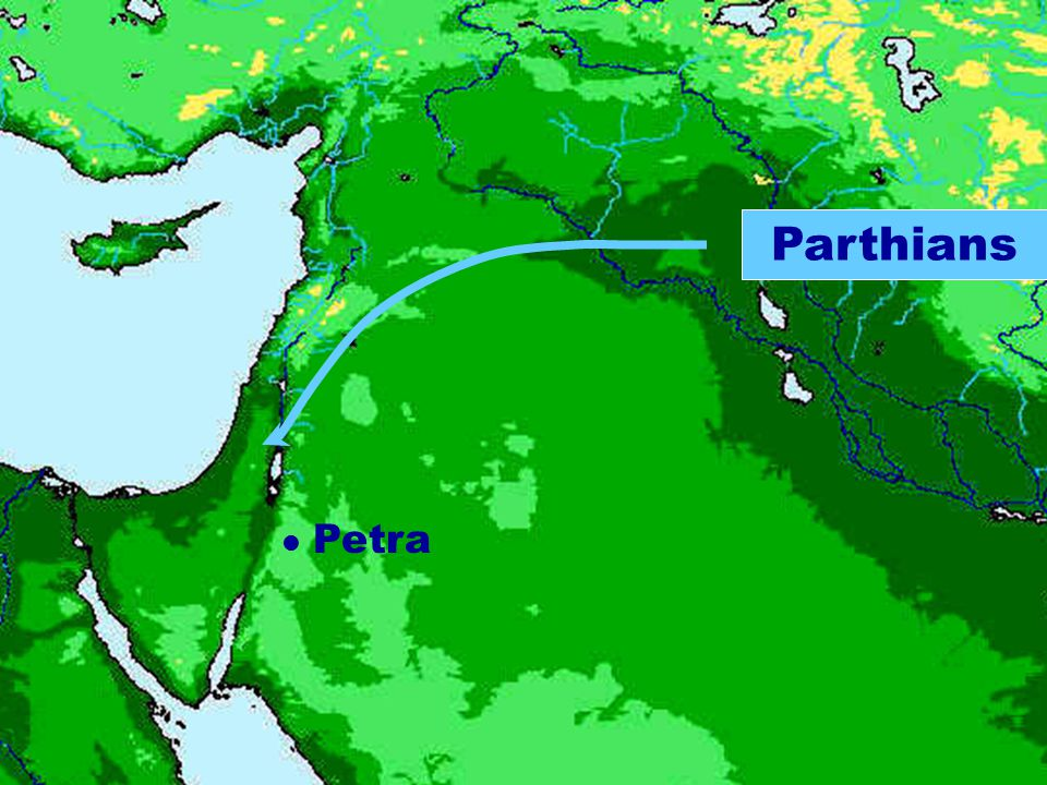 Parthians Petra