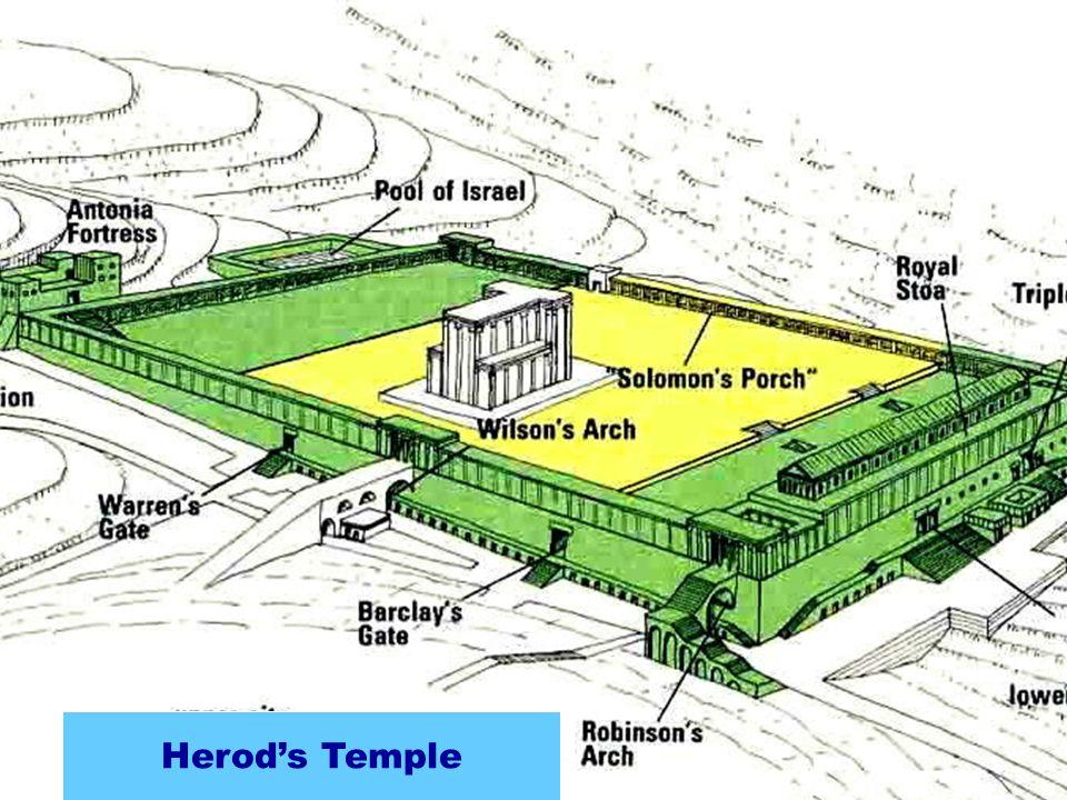 Zerubbabel's Temple Seleucid Addition Hasmonean ExpansionHerod's Temple