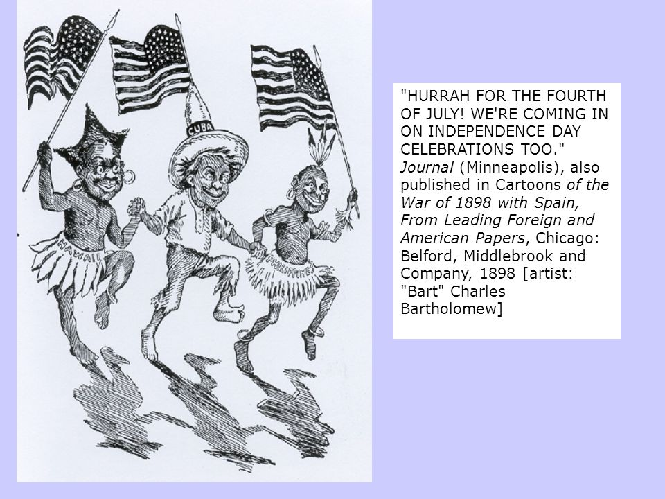 HURRAH FOR THE FOURTH OF JULY.