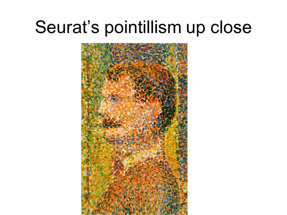 Seurat's pointillism up close