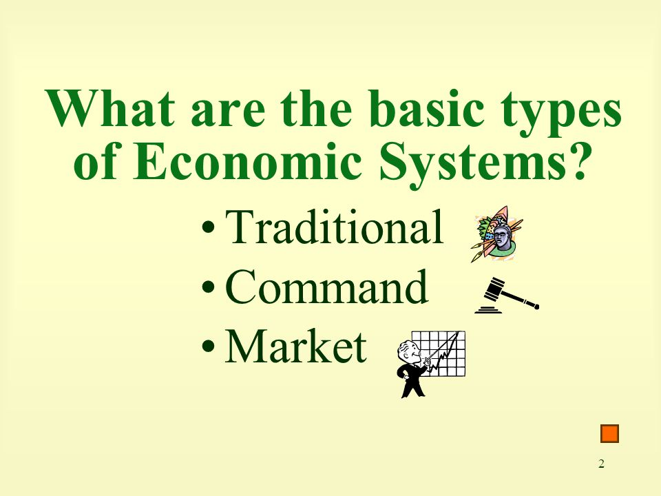 33 Communism is an economic system envisioned by Karl Marx to be an ideal society in which the workers own all the factors of production.