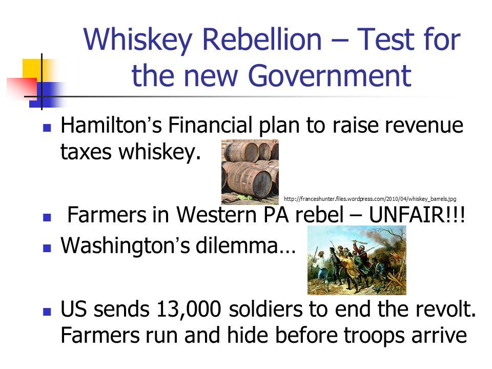 Whiskey Rebellion - Importance.
