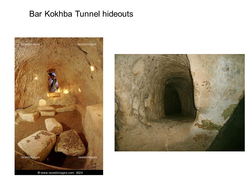 Bar Kokhba Tunnel hideouts