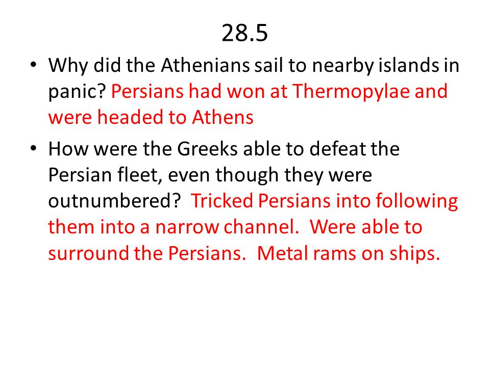 28.6 and 28.7 What happened at the Battle of Plataea.