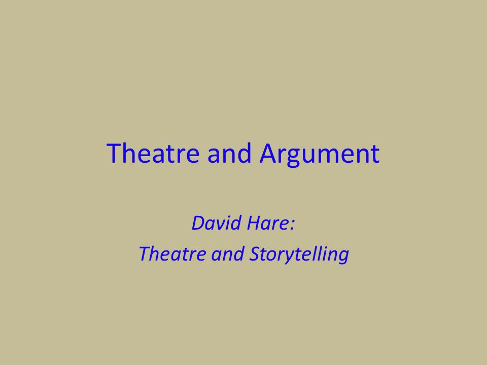 12 DAVID HARE OBEDIENCE, STRUGGLE & REVOLT David Hare's Obedience, Struggle & Revolt seeks to answer: What is a political playwright.