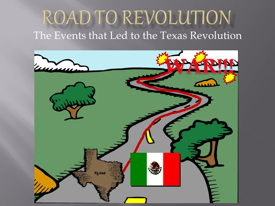 The Events that Led to the Texas Revolution