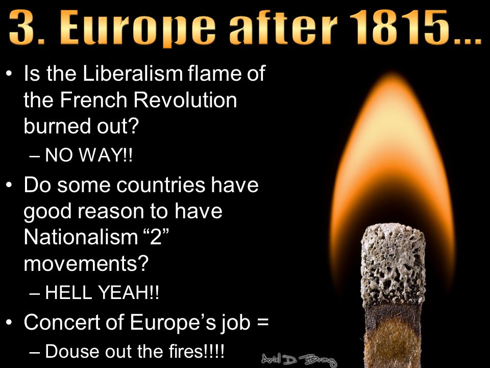 Is the Liberalism flame of the French Revolution burned out.