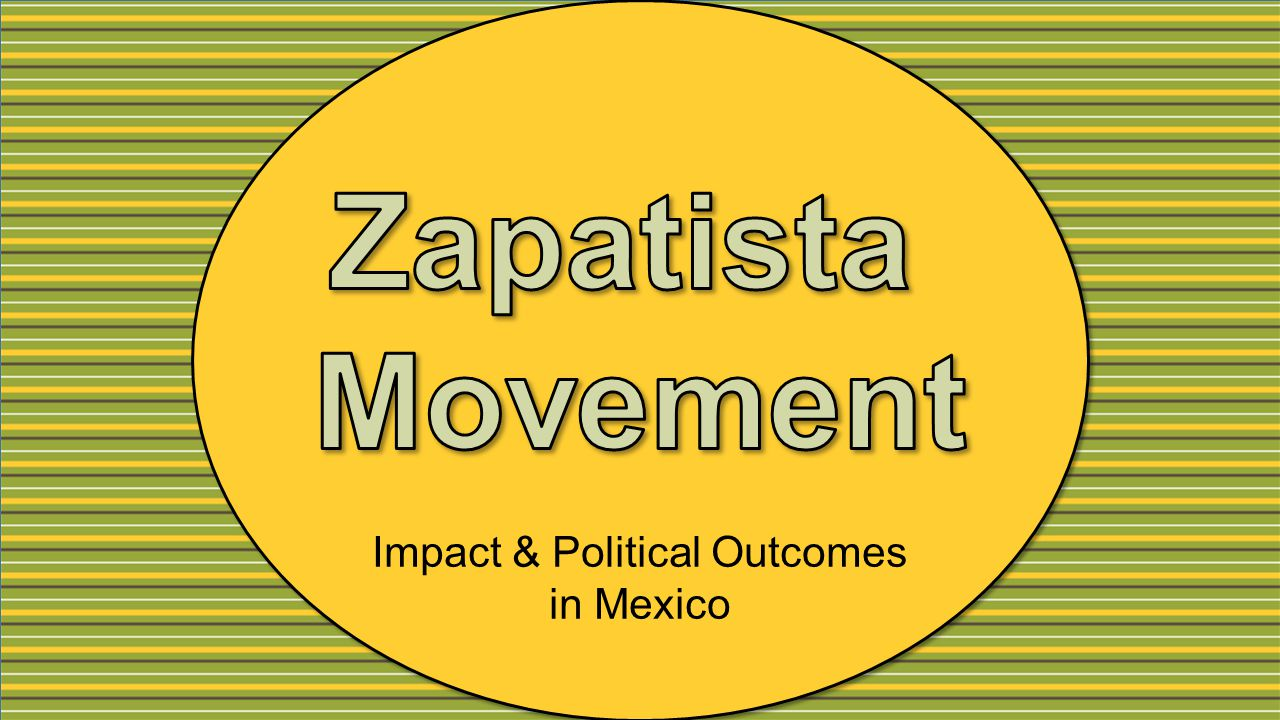Impact & Political Outcomes in Mexico