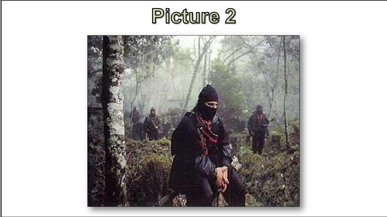 Armed Takeover in Chiapas – 1994