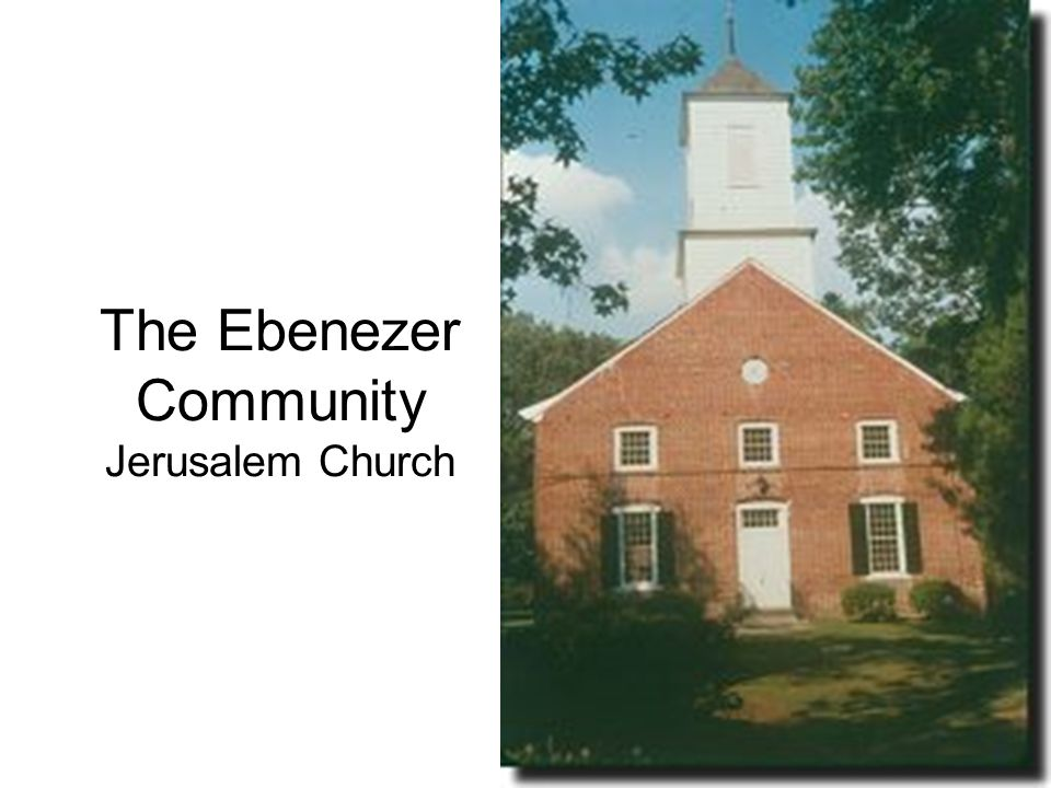 The Ebenezer Community Jerusalem Church