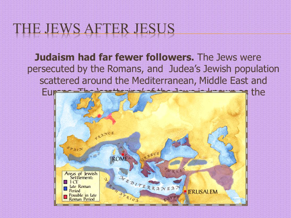  The Romans separated the province of Judea from Syria, and ordered the inhabitants of Jerusalem to pay a tax to the Temple of Jupiter in Rome.
