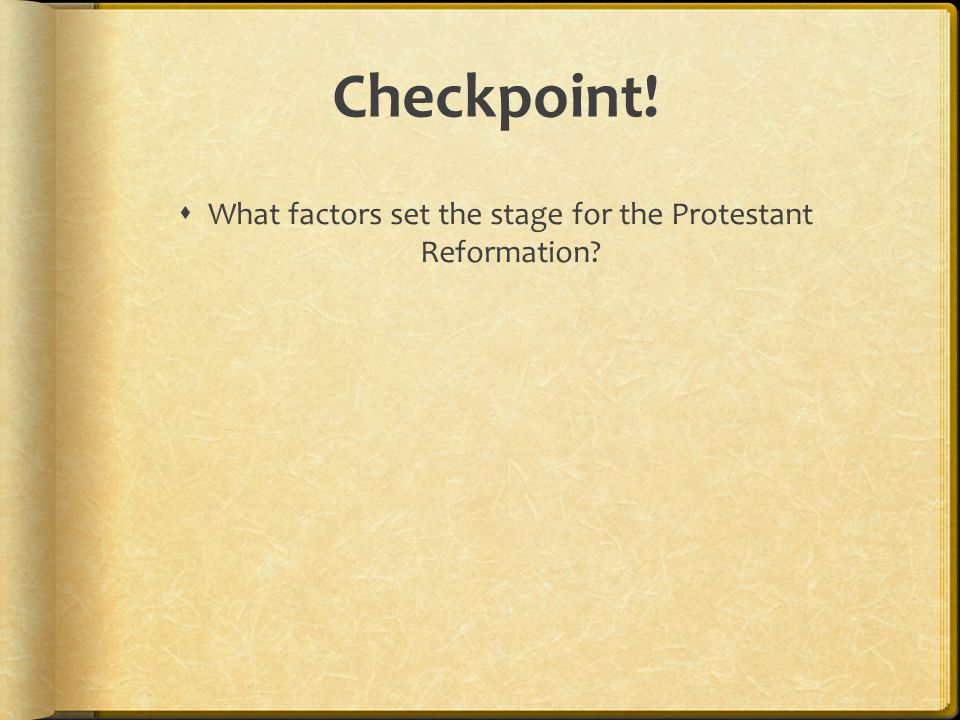 Checkpoint!  How did Luther's teachings affect people and society in Northern Europe?
