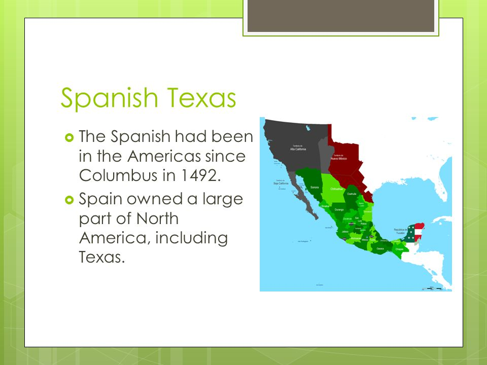 Republic of Texas  The Lone Star Republic was born and Sam Houston became the first President  Texans wanted the US to annex (incorporate) Texas as the 28 th State, but slavery issues clouded the debate until President James K.