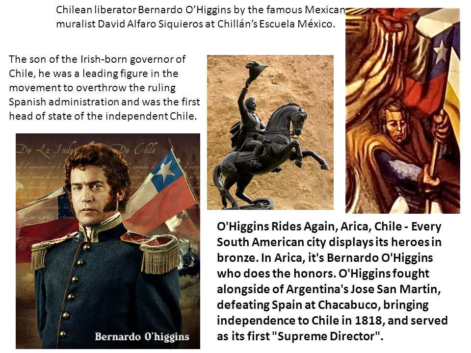 O'Higgins Rides Again, Arica, Chile - Every South American city displays its heroes in bronze. In Arica, it's Bernardo O'Higgins who does the honors.