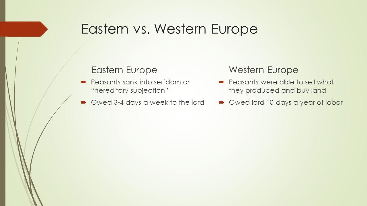 Eastern vs.