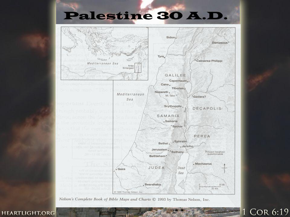 Palestine 30 A.D.