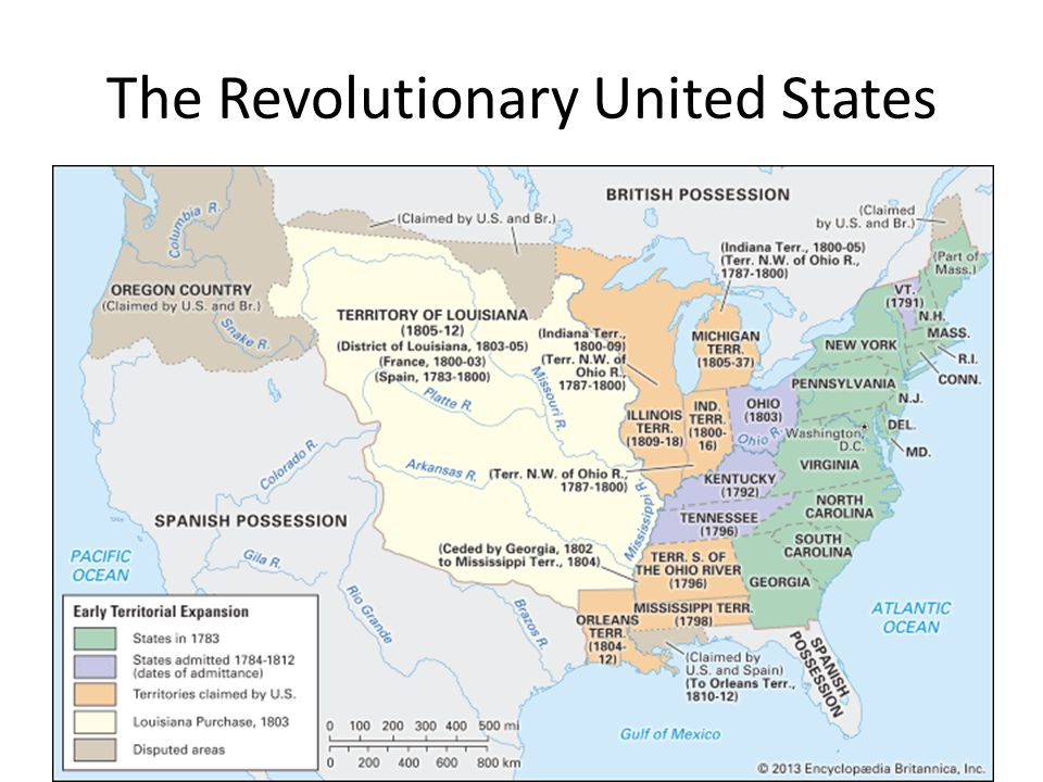 The Revolutionary United States