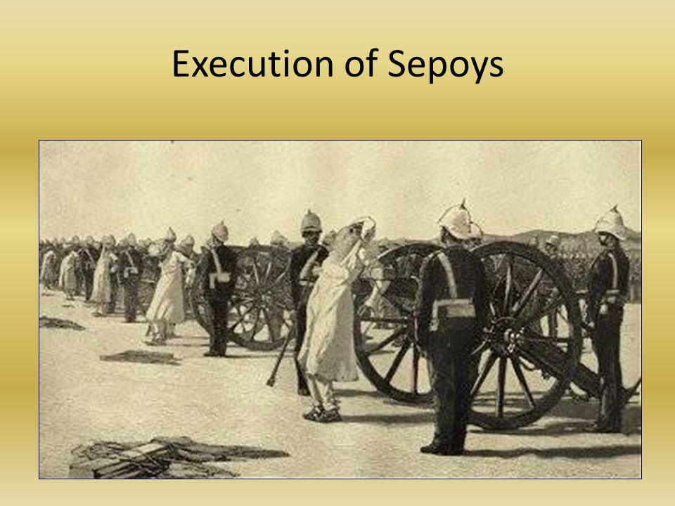 Execution of Sepoys