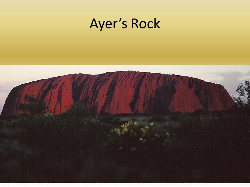 Ayer's Rock