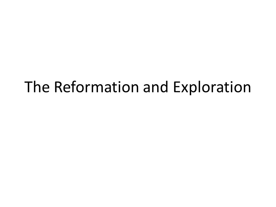The Reformation Overview: A religious revolution, grounded in the Christian Humanism of Northern Europe during the 15 th century, occurred during the 1500s.