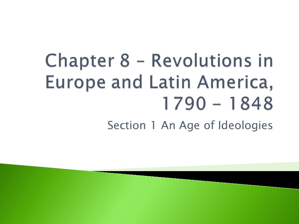  1790's in France the debate over ways to abolish slavery in the West Indies were being had  1791 – Inspired by the rhetoric of the Enlightenment, Haiti's slaves exploded in revolt  Leader of the rebellion Toussaint L Ouverture