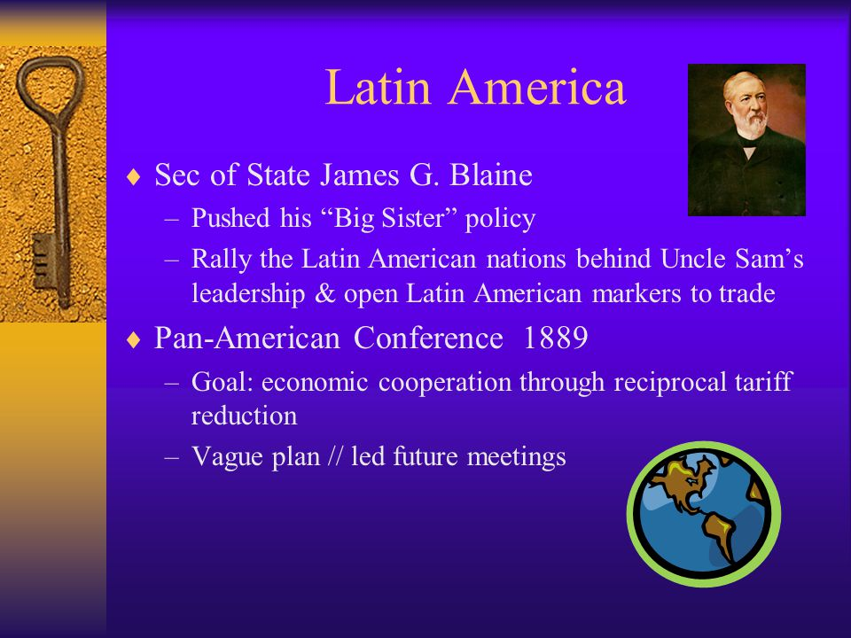 Latin America  Sec of State James G.