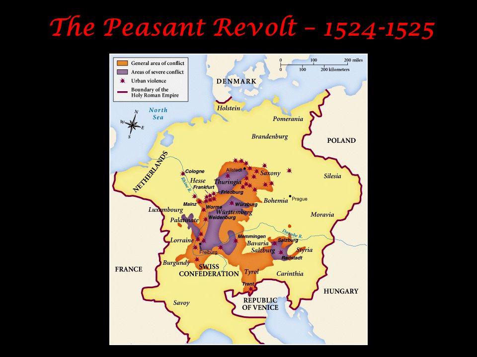 The Peasant Revolt – 1524-1525