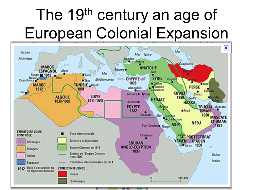 The 19 th century an age of European Colonial Expansion