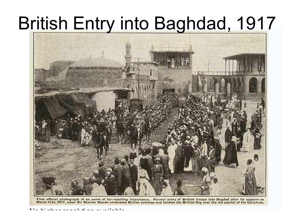 British Entry into Baghdad, 1917