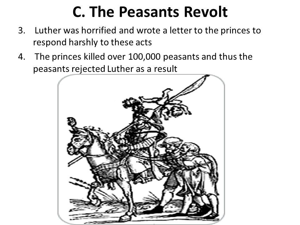 C.The Peasants Revolt 3.
